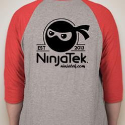 NinjaTek Baseball Tee