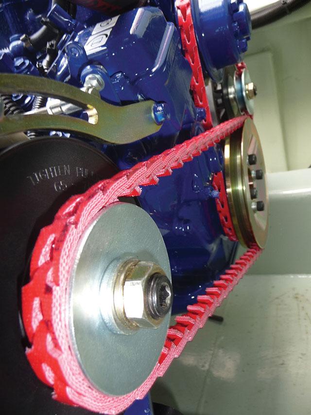 Alternator Belt Cost >> Link Belts for Marine Equipment | By Market | Fenner Drives