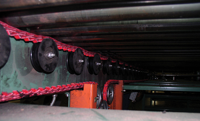 Roller Drive Conveyors For Material Handling Fenner Drives