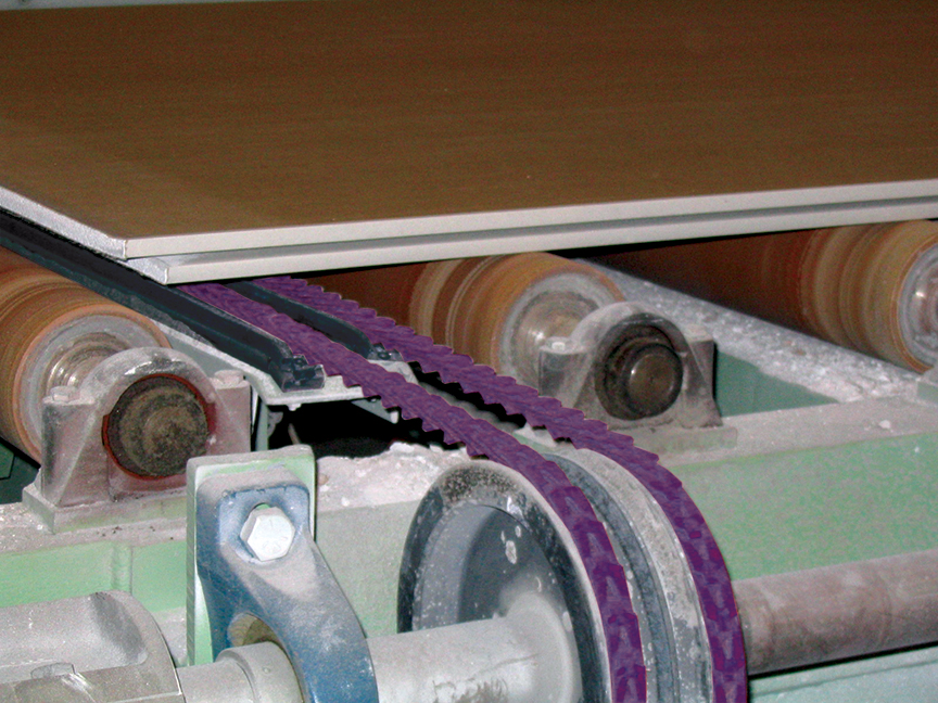 Browse Gypsum Wallboard Manufacturing Belts | Fenner Drives
