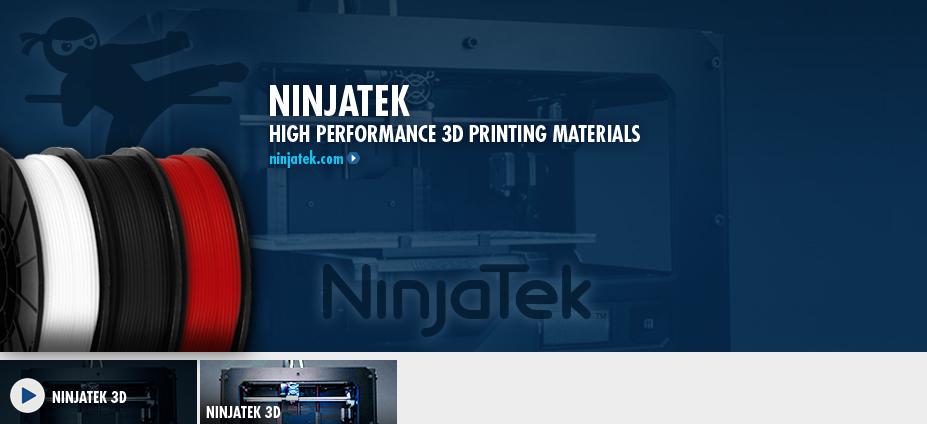 NinjaTek 3D Printing Filaments