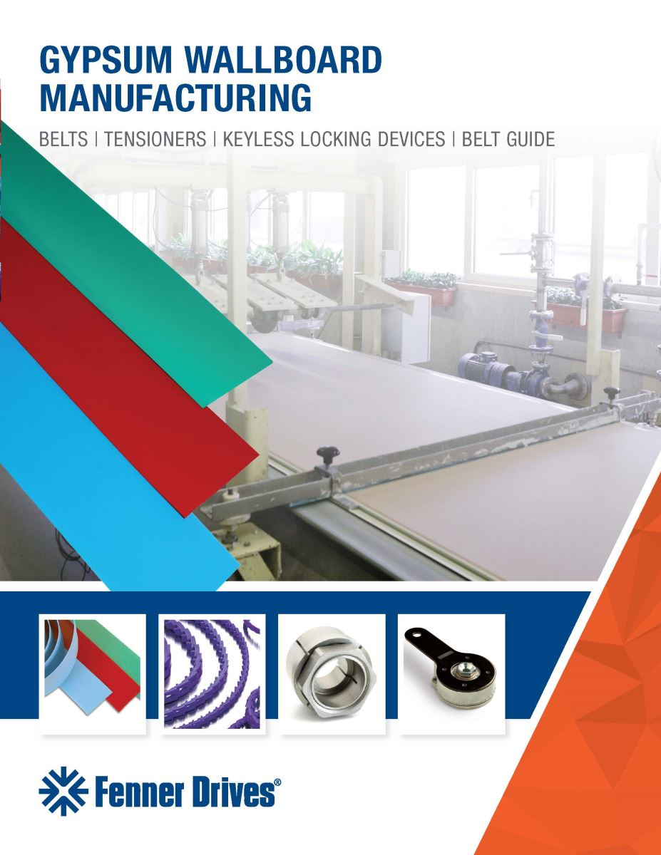 Gypsum Wallboard Manufacturing Solutions