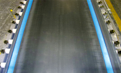 Eagle Taper Edge Band on a Gypsum Wallboard Forming Conveyor