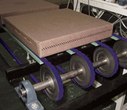 Tango High Performance Link Belting on a Packaging Conveyor