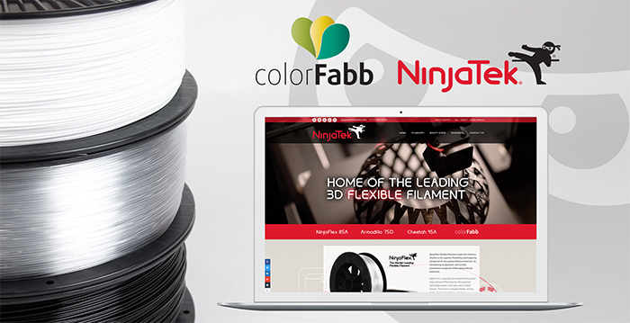 NinjaTek and colorFabb Announce Joint Distribution Venture