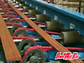 PowerTwist Plus V-Belts conveying wood moulding at Deimco